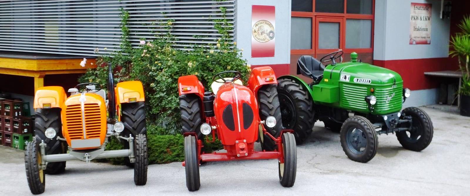 Traktoren zum Verkauf