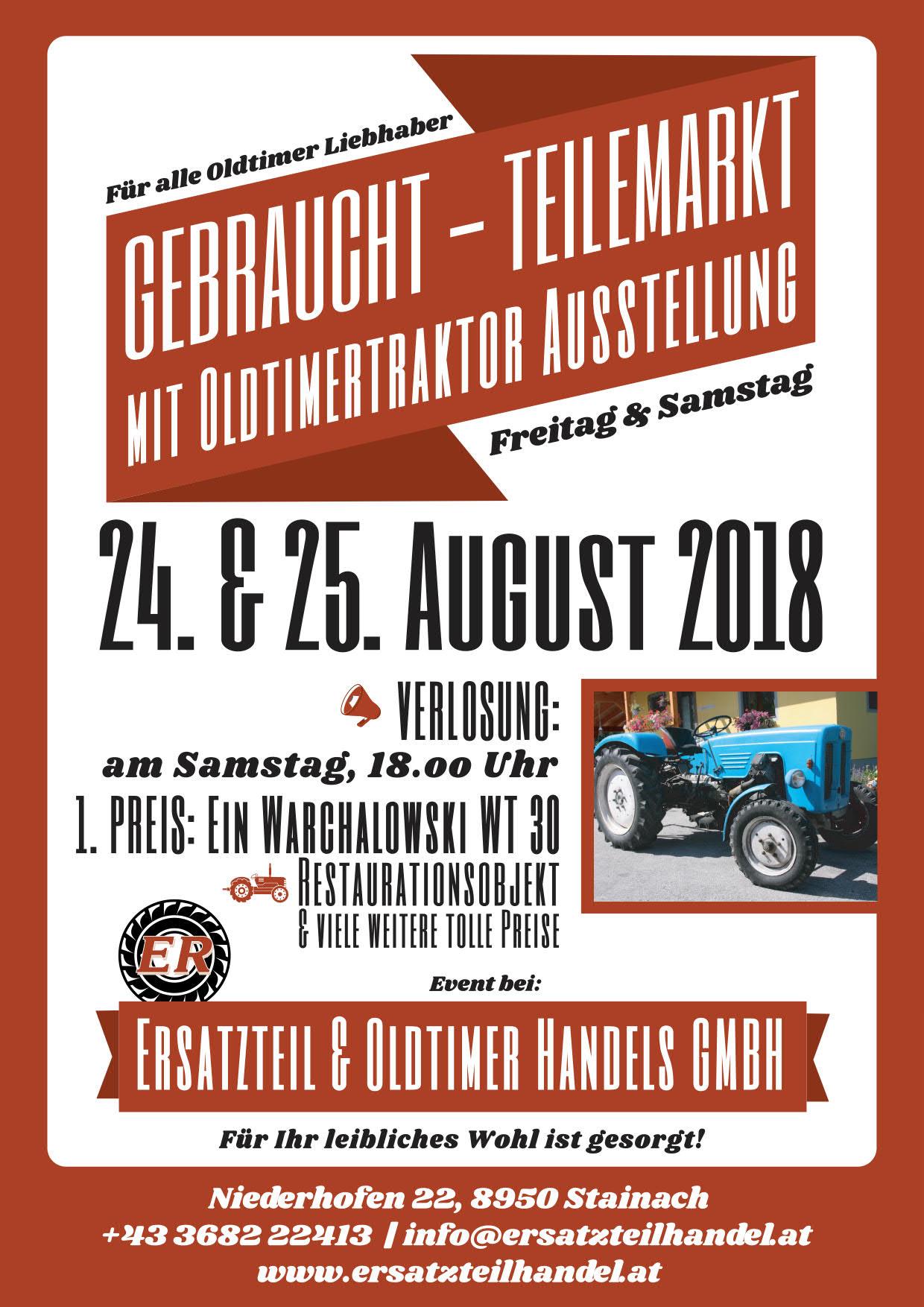Teilemarkt & Hausmesse 2018